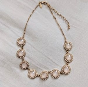 Pink blush necklace